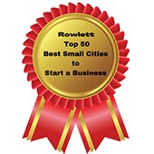 Best Small Cities badge