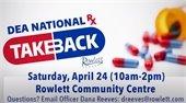 National Prescription Take Back Day